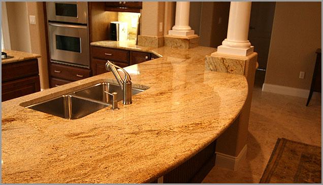 Gold Granite Countertops : Gold granite kashmir countertop samples