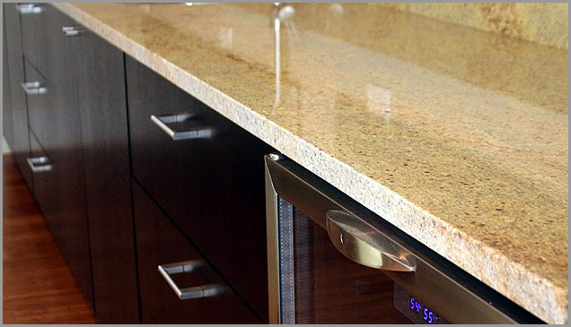 Gold Kitchen, Yellow Granite ...