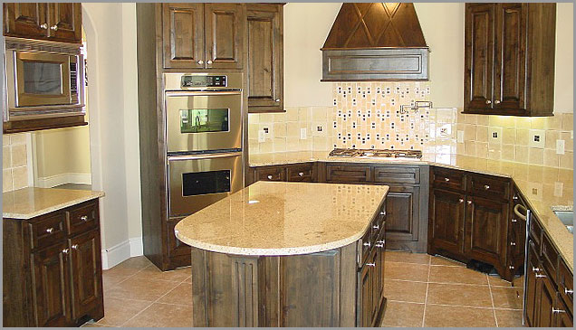 Gold Granite Kitchen Kashmir Gold Granite Countertop