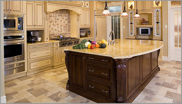 Granite countertops are very popular in Arizona